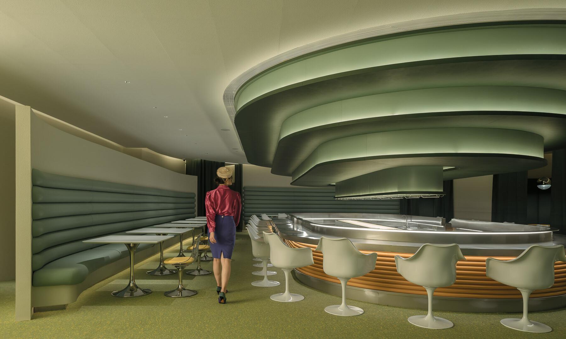 Atlatl: czy tak będą wyglądać restauracje przyszłości?