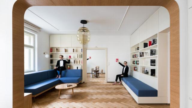 No Architects przywraca wdzięk zagmatwanej przestrzeni
