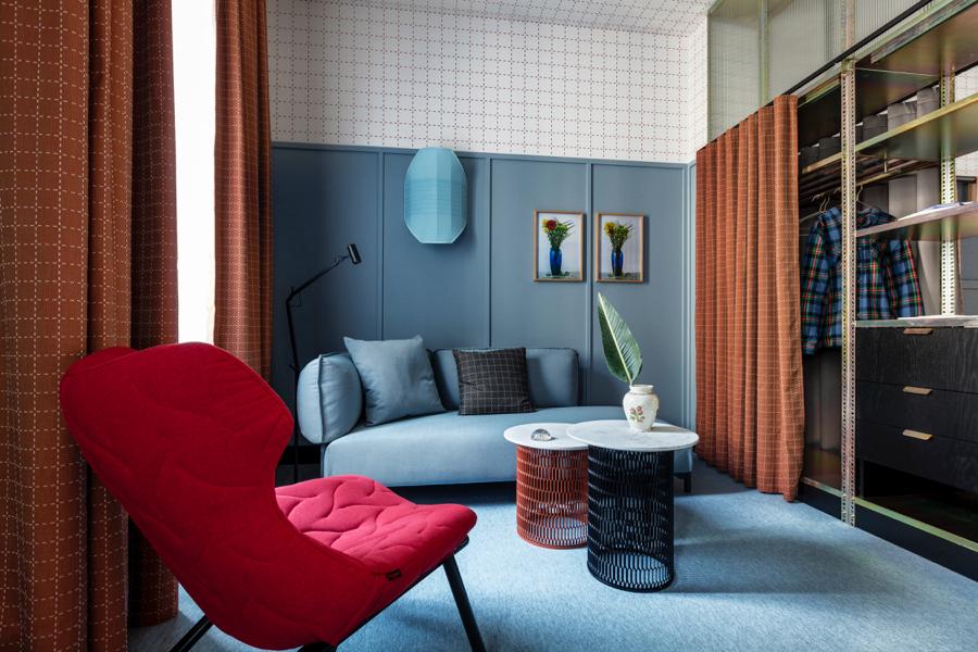 Na zdjęciu: mediolański hotel sieci Room Mate zaprojektowany przez Patricię Urquiolę