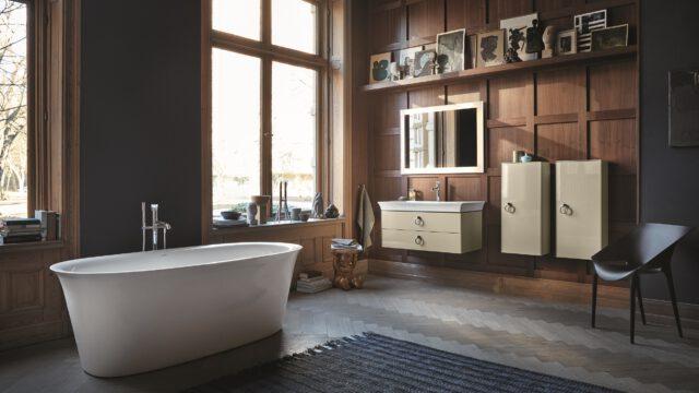 Pierwsza kompletna łazienka stworzona przez słynnego Philippe Starcka dla marki Duravit