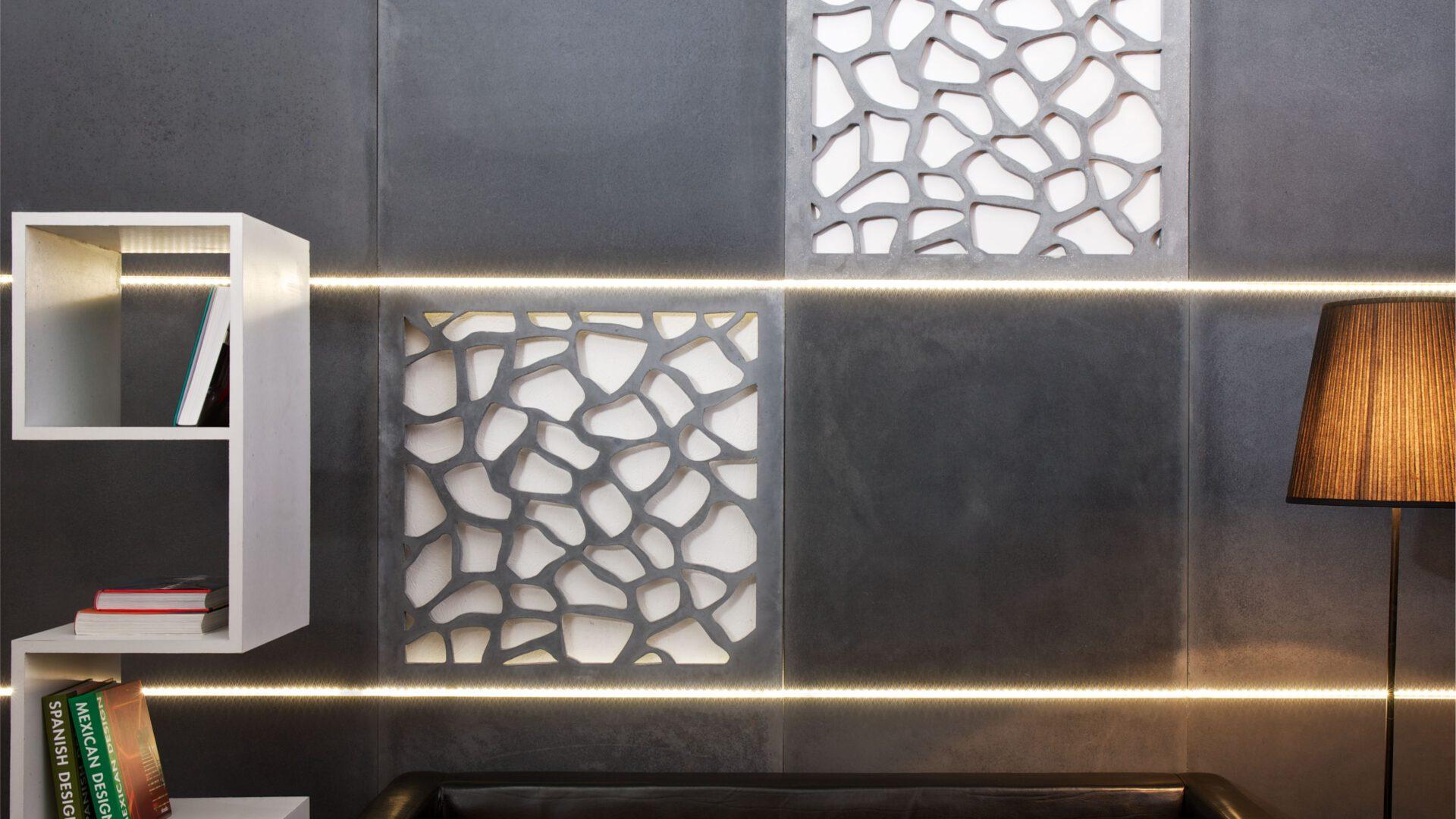 Na zdjęciu: ażurowe płyty z oferty marki Modern Line