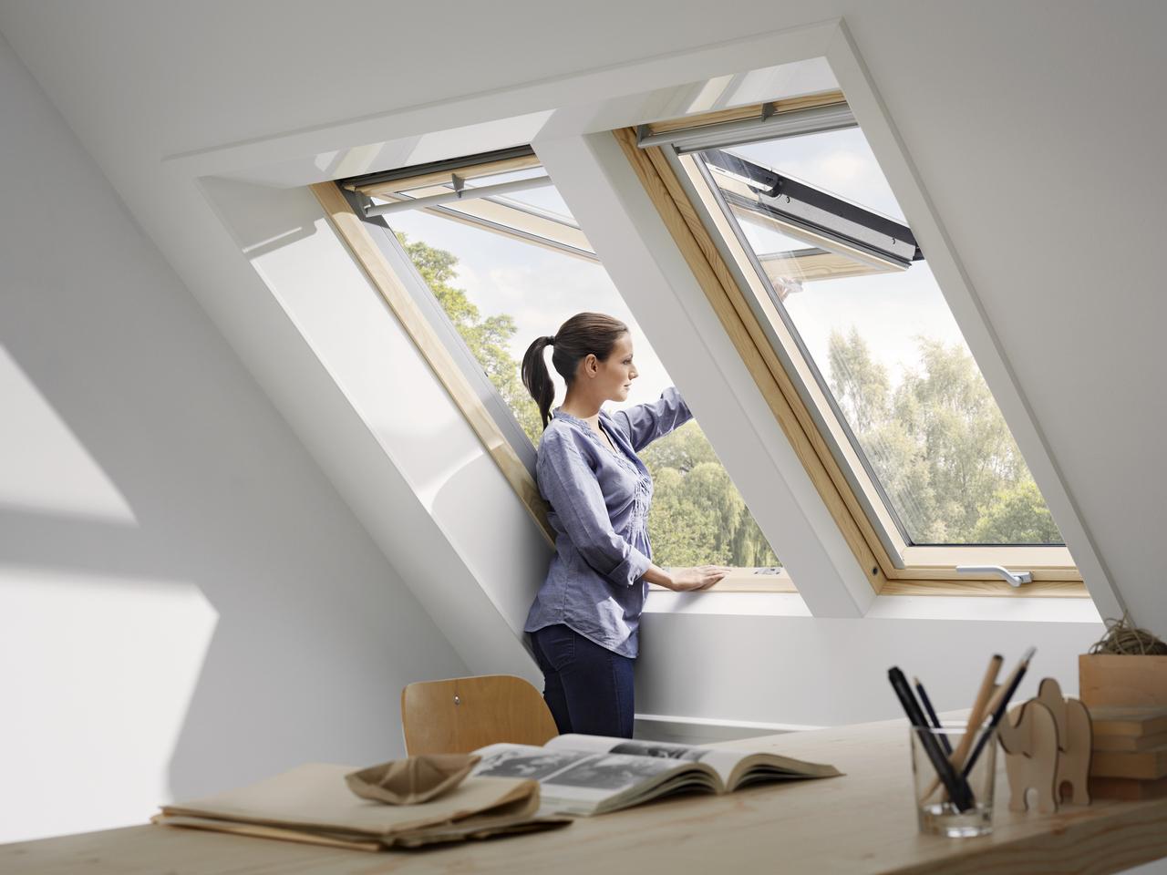 okna dachowe na poddaszu