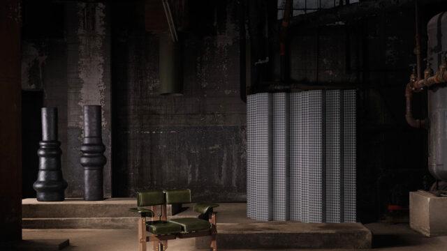 Zmutowane meble na postapokaliptycznej wystawie