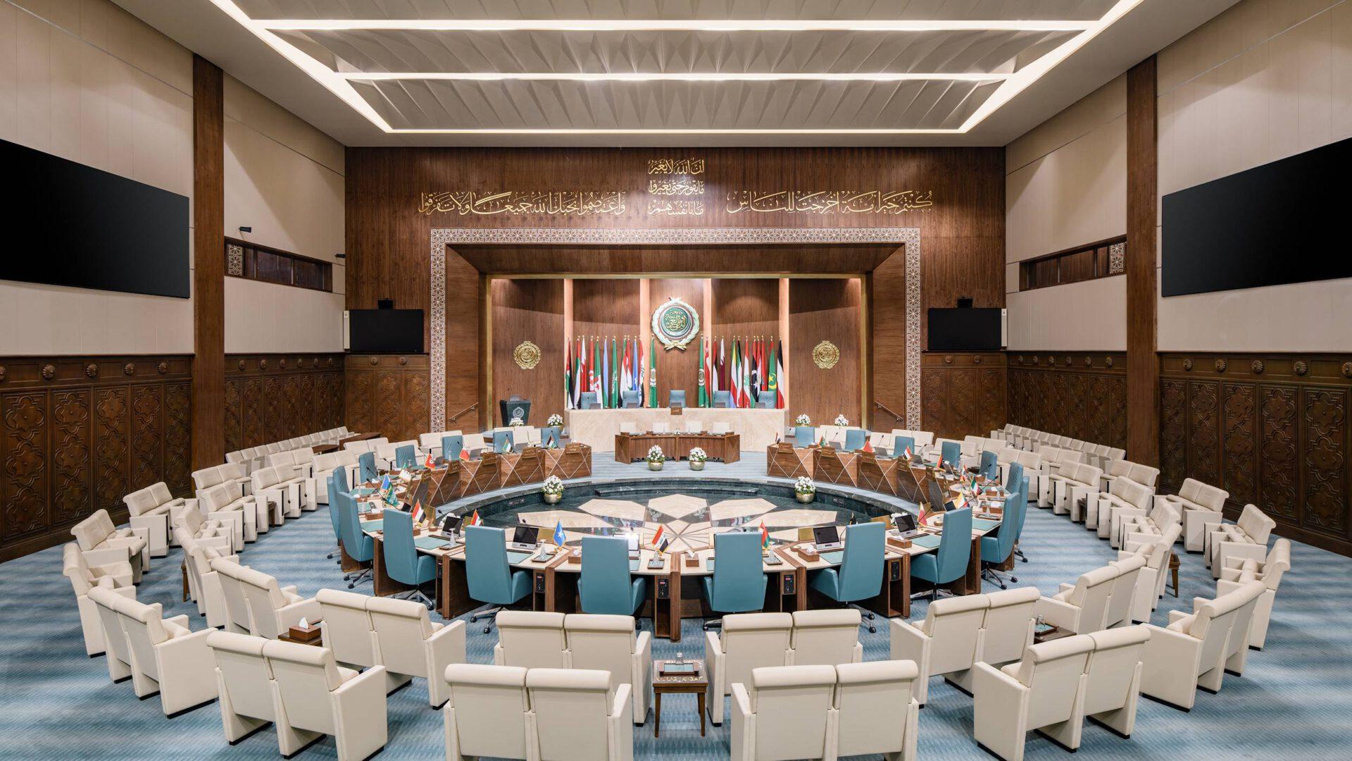 Nada Debs odmieniła wnętrza Ligi Państw Arabskich w Kairze