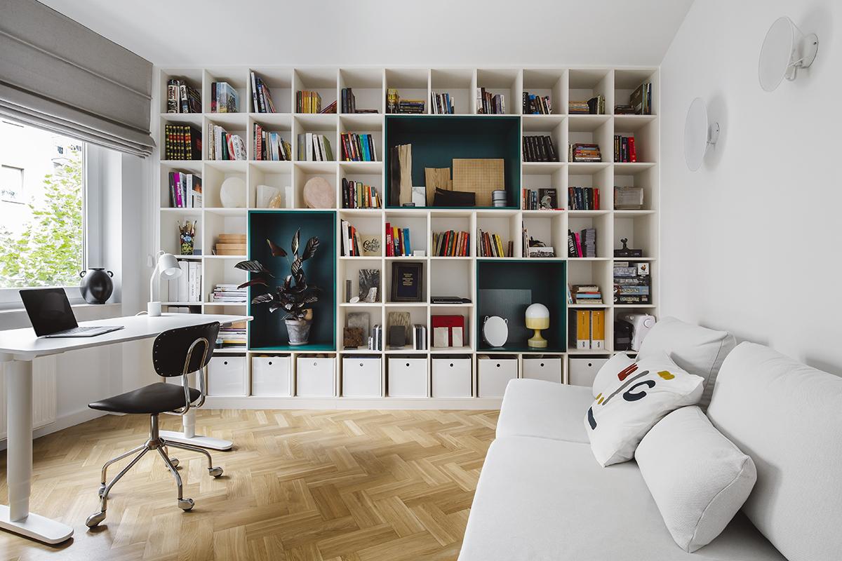 optyczne powiększenie mieszkania z wykorzystaniem mebli