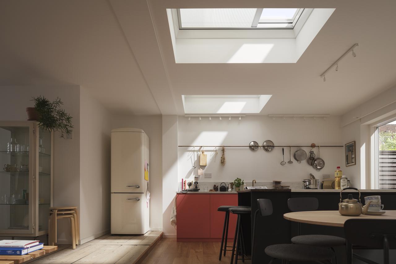 okna do płaskich dachów