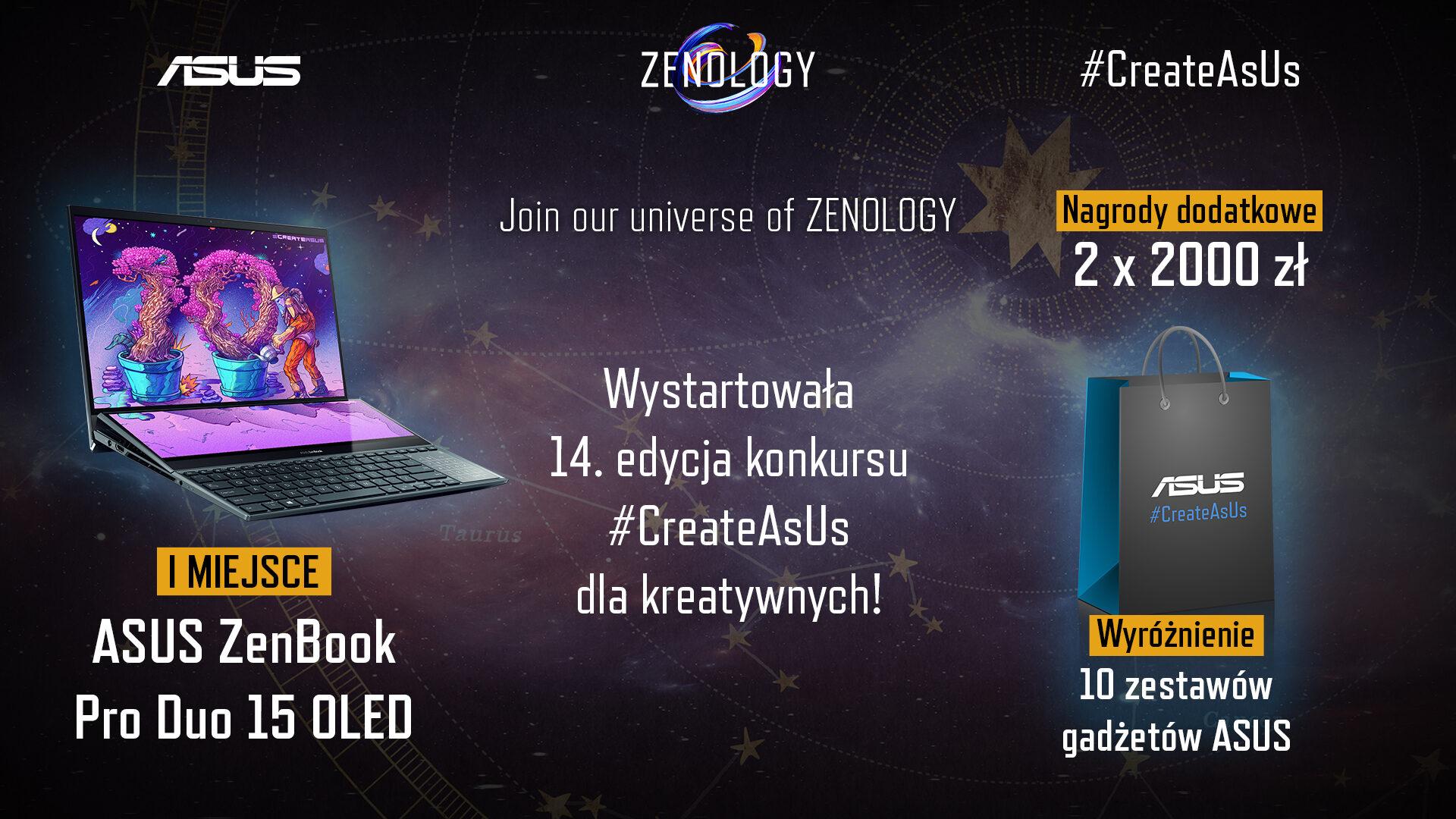 10 lat historii laptopów ZenBook motywem przewodnim 14. konkursu #CreateAsUs