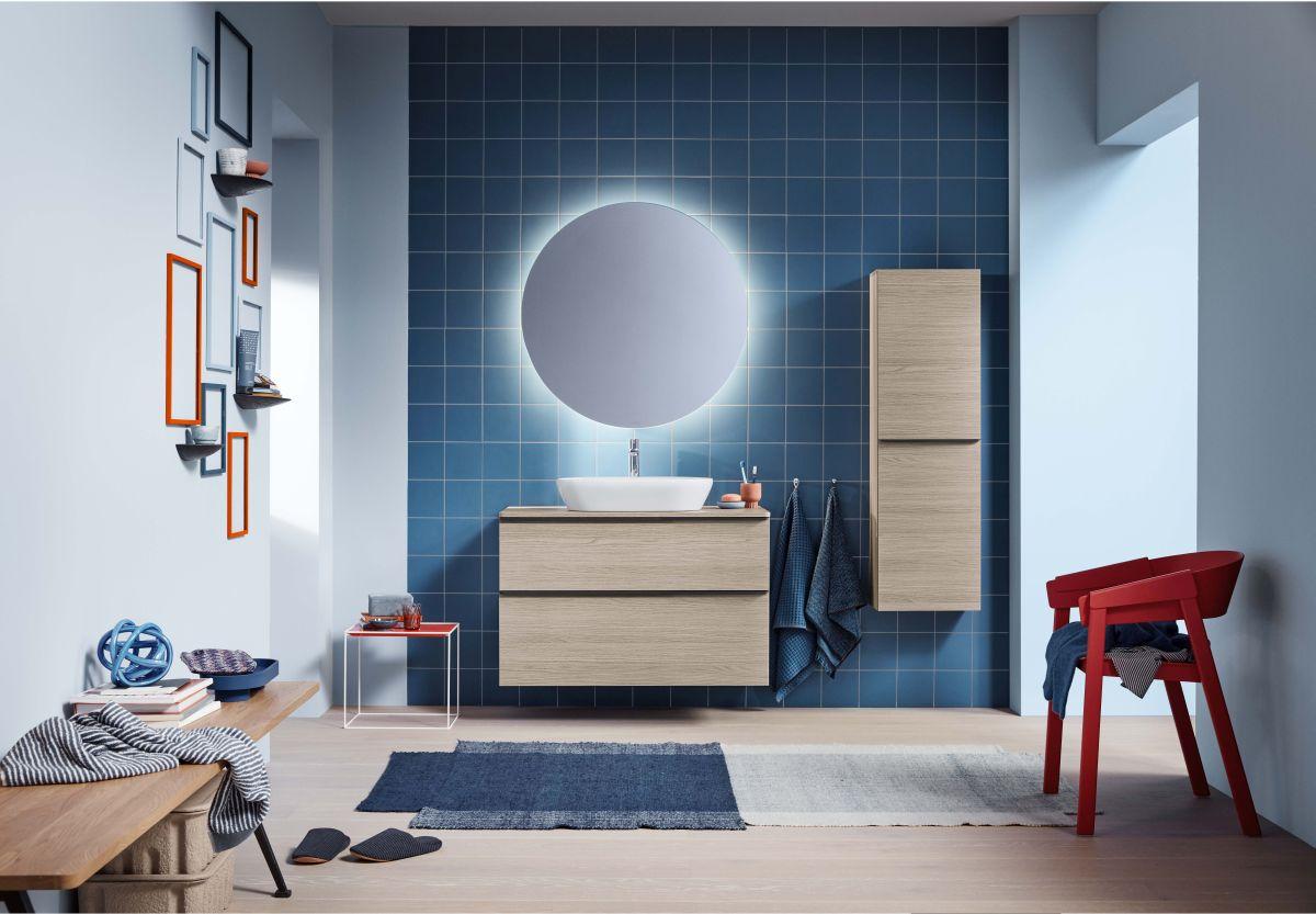 Łazienka w stylu monochromatycznym