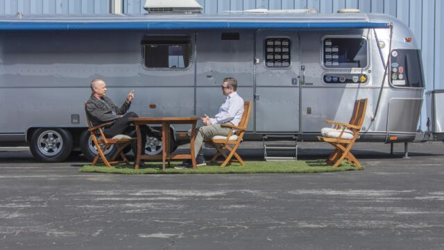 Kultowy Airstream Toma Hanksa wystawiony na sprzedaż