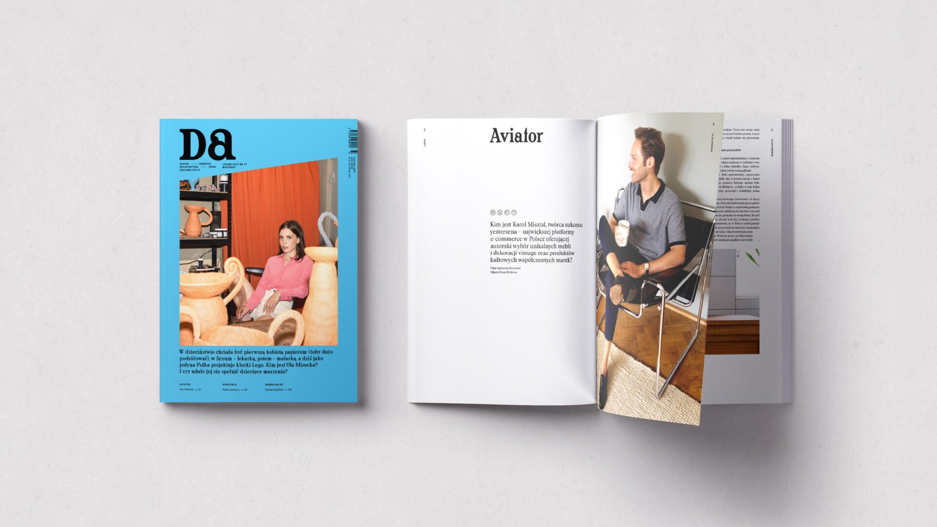 """Jesienny numer """"Design Alive"""" już w sprzedaży. Polecamy!"""