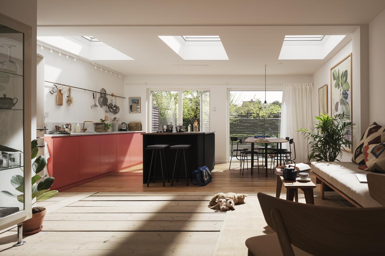 Doświetlone wnętrze pod płaskim dachem? Naturalnie!
