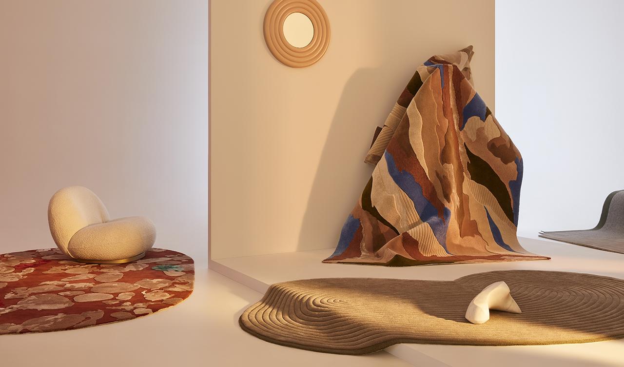 Tsar Carpets z nową kolekcją. Niespotykane formy zrodziły pandemiczne obserwacje