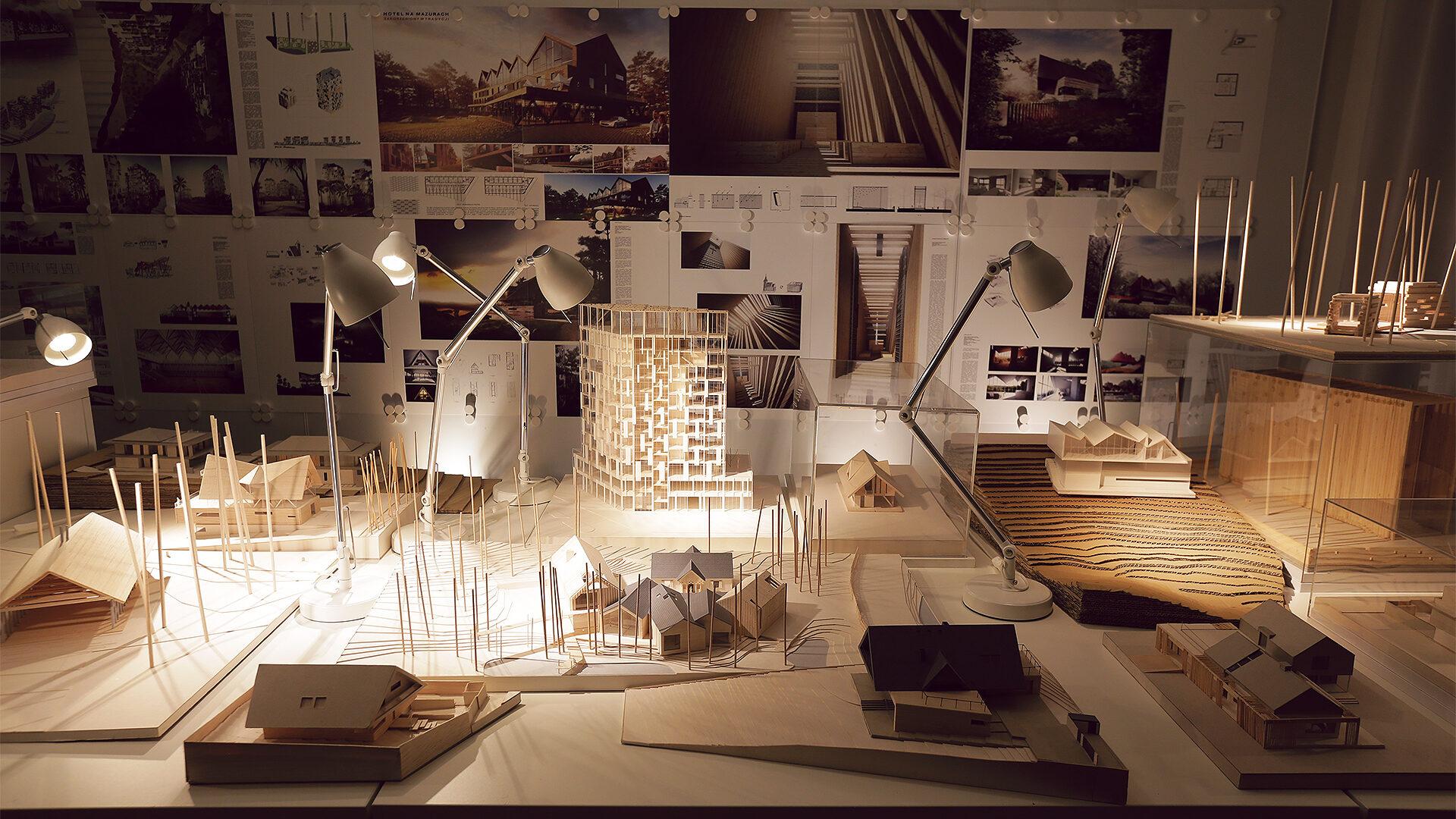 Eksperymentalna opowieść o architekturze ujęta w papierową animację
