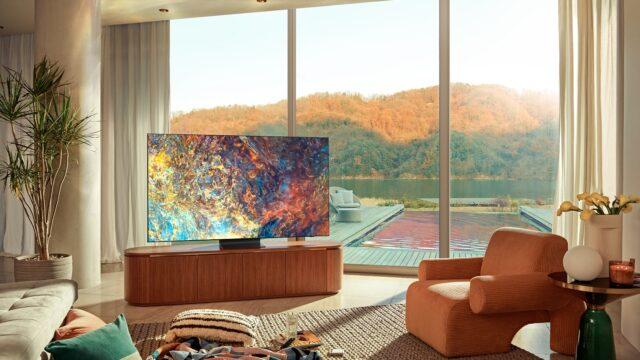 Te telewizory to obrazy bez ram!